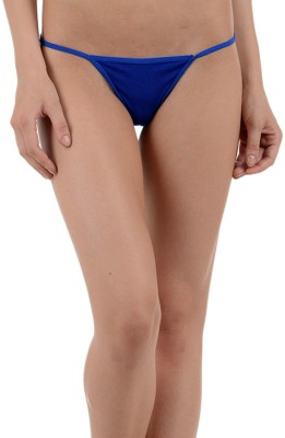 Muquam Women Bikini Blue Panty(Pack of 1) at flipkart