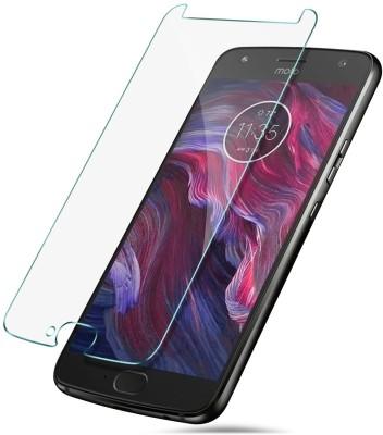 MYUZ Tempered Glass Guard for Motorola Moto X4(Pack of 1)