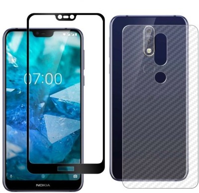 FAD-E Tempered Glass Guard for Nokia 7.1(Pack of 2)