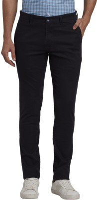 Parx Slim Fit Men Blue Trousers at flipkart