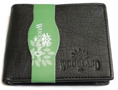 Woodland Men Black Artificial Leather Wallet