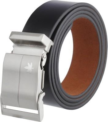ZORO Men Casual, Party, Formal Black Genuine Leather Belt