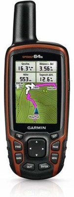 Garmin GARMN_MAP_64s GPS Device(Grey-Black)