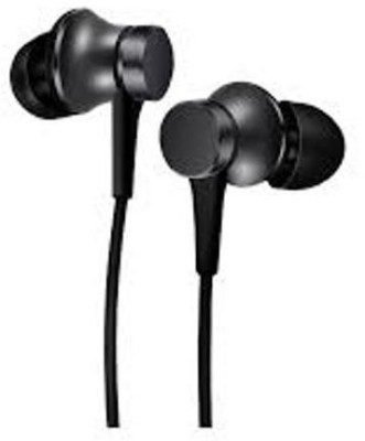 Bhani wired headphones with mic.6 ,7 & 8Pro (Black, In the Ear) Wired Headset(Black, Wired in the ear)