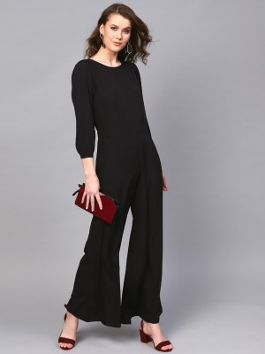 Sassafras Solid Women Jumpsuit at flipkart