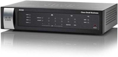 Cisco RV320 Dual Gigabit WAN VPN 100 Mbps Router (Black)