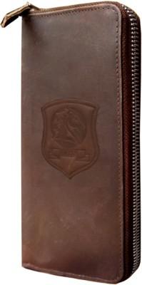 MATSS Men Wallet || Wallet || Card Holder 10 Card Holder(Set of 1, Brown)