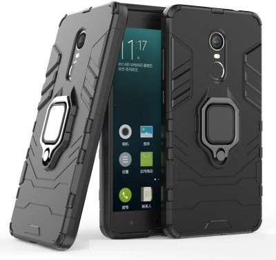 Flipkart SmartBuy Back Cover for Mi Redmi Note 4(Black, Shock Proof)