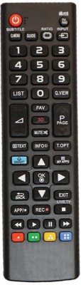 SHREE ASHTAVINAYAK ENTERPRISES LED/LCD Universal Remote Control For 3D Smart LED/LCD Remote Controller(Black)