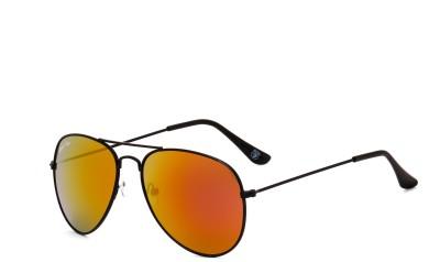 Royal Son Aviator Sunglasses(Red)