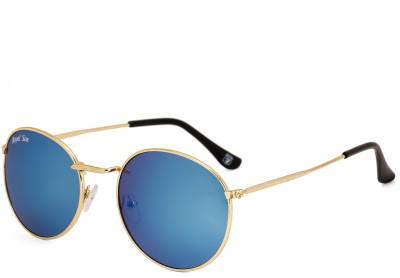 Royal Son Round Sunglasses(Blue)