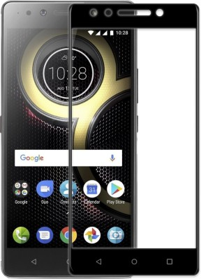 TrueObjects Edge To Edge Tempered Glass for Lenovo K8 Note(Pack of 1)