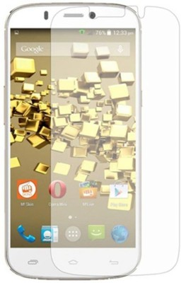 JK Enterprises Tempered Glass Guard for Micromax Canvas Gold A300(Pack of 1)