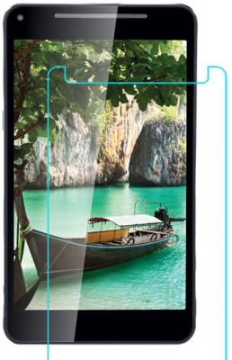 CHAMBU Tempered Glass Guard for Micromax Fantabulet F666 Tablet(Pack of 1)