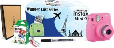 Fujifilm Instax Mini9 Wander Lust Series Instant Camera(Pink)
