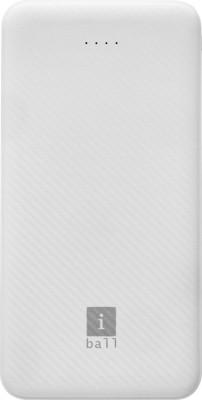 iBall 10000 mAh Power Bank (IB-10000LP)(White, Lithium Polymer) at flipkart