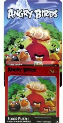 Angry Birds Floor Puzzle 46Piece(1 Pieces)