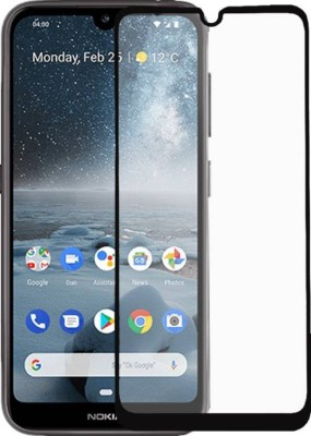 GeekMart Edge To Edge Tempered Glass for Nokia 2.2(Pack of 1)