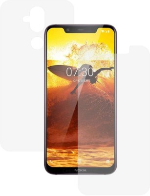 Case Creation Front and Back Screen Guard for Nokia 8.1 (Nokia X7)(Pack of 2)