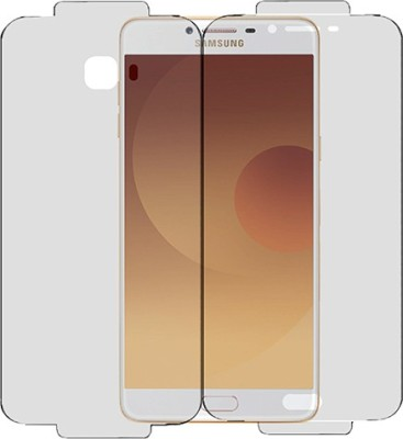 Marshland Front and Back Screen Guard for Samsung Galaxy C9 Pro, Anti Scratch Bubble Free Front And Back Screen Protector(Pack of 1)