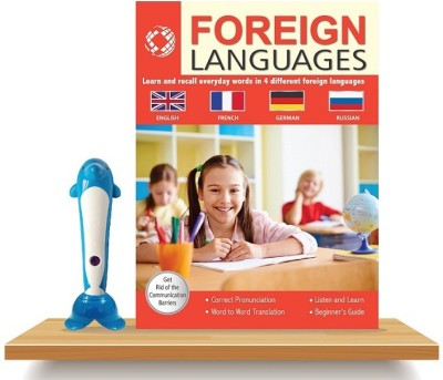 Foreign Languages Learning Book With Talking Pen (Learn English, French, German & Russian)- AADARSH(Paperback, Others, Aadarsh)