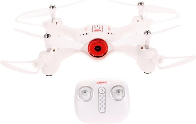 SYMA Toyhouse X23W Indoor RC Drone 0.3 MP Camera, APP Control - Support Wifi FPV(White)