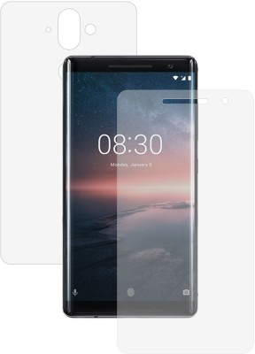 Case Creation Front and Back Screen Guard for Nokia 8 Sirocco(Pack of 2)