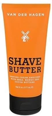 Van der Hagen Shave Butter 6 oz Pack of 2 Shaving Soap(2 g)