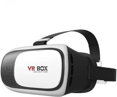 DIGI 2.0 2nd Gen Virtual Augmented Reality Cardboard 3D Video Glasses- White (Smart Glasses)