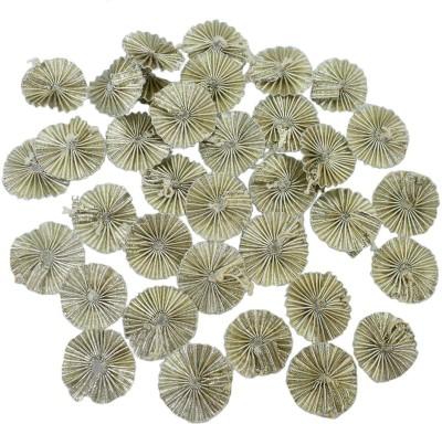 Embroiderymaterial Handmade Gota Flower Appliques Flower Patches (100Pcs)