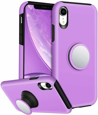 Vikeko Back Cover for Apple iPhone X, Apple iPhone XS(Purple, Cases with Holder)