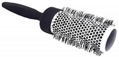 FOK 1 PC Plastic Round Hair Brush Roller Curler Home/Salon Purpose - Black, 50�