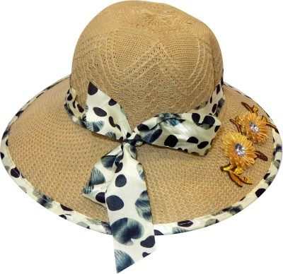 VERBIER Sun Hat for Women Hats for Summer, Cream, Pack 1(clear, Pack of 1)
