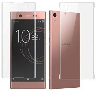 Case Creation Front and Back Screen Guard for Sony Xperia XA1 Ultra Dual(Pack of 2)