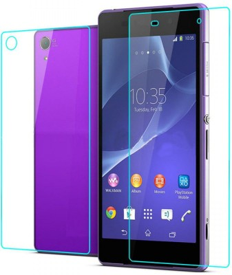 Snooky Front and Back Tempered Glass for Sony Xperia Z2(Pack of 1)