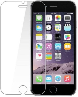 KMPPoWeR Tempered Glass Guard for Apple iPhone 6 Plus(Pack of 1)