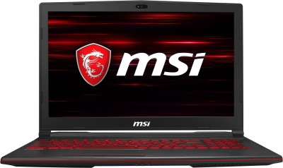Image of MSI GL Series Core i7 9th Gen Laptop which is one of the best laptops under 70000