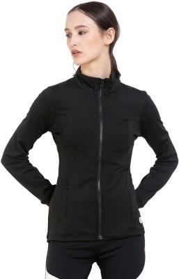 Red Cheri Full Sleeve Solid Women Jacket