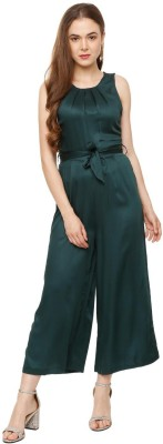 People Solid Women Jumpsuit at flipkart