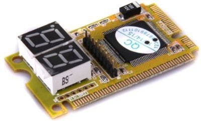 TechGear Diagnostic Post Card USB Mini PCI-E PCI LPC PC Analyzer Motherboard(Yellow) at flipkart