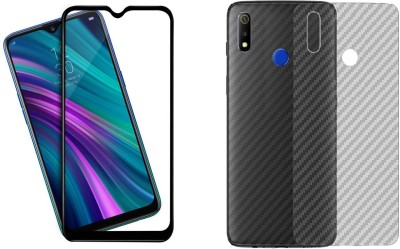 JBJ Front and Back Screen Guard for Realme 5 Pro(Pack of 1)