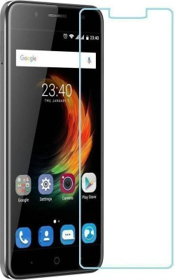 CHAMBU Tempered Glass Guard for Spice Mi-349 Smart Flo Edge(Pack of 1)