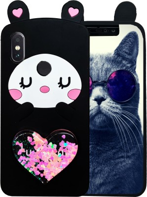 EmptyMinds Back Cover for Mi Redmi Note 5 Pro(CUTE HEART CAT, Grip Case)