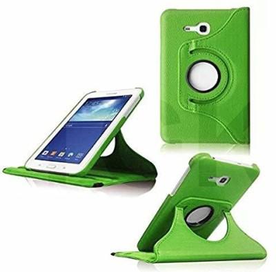 TGK Book Cover for Samsung Galaxy TAB 3, TAB 3V, SM- T116, SM- T113, SM- T110, SM- T111 (7.0 inch NEO Lite)(Green)