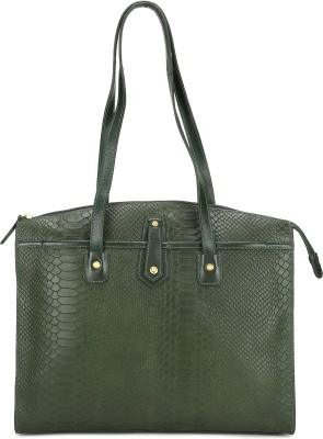 Hidesign Women Green Shoulder Bag at flipkart