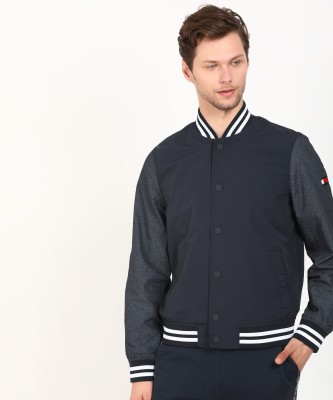 Tommy Hilfiger Full Sleeve Solid Men Jacket at flipkart
