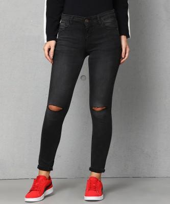 Metronaut Skinny Women Grey Jeans at flipkart