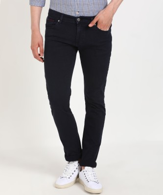 Tommy Hilfiger Slim Men Dark Blue Jeans