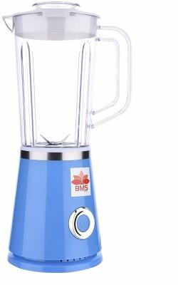 BMS Lifestyle GRINDER Blender, Smoothie Blender 550 Watt with Travel Lid for Smoothies 500 Juicer Mixer Grinder(Blue, 1 Jar)