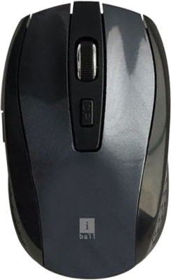 Iball FreeGo G18 Wireless Optical Mouse 2.4GHz Wireless, Dark Silver